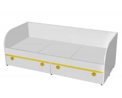 Кровать с ящикам Мамба (80х186)