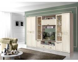 Шкафы стенки Виктория в цвете Филадельфия