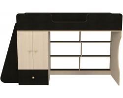 Кровать-чердак со шкафом Капризун 1 (80х180)