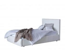 Кровать Мягкая Селеста 1200 белая с ортопед.основанием с матрасо