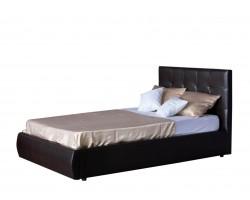 Кровать с подъемным механизмом Мягкая Селета 1200 венге