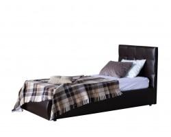 Кровать Мягкая Селеста 900 венге с ортопед.основанием с матрасом