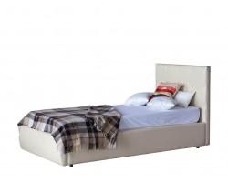 Кровать Мягкая Селеста 900 беж с ортопед.основанием с матрасом P