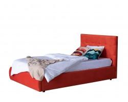 Кровать с подъемным механизмом Мягкая Selesta 1200 оранж