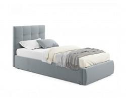 Кровать с подъемным механизмом Мягкая Selesta 900 ерая матра