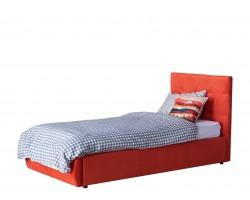 Детская кровать Мягкая Selesta 900 оранж с подъемным механизмом с матрас