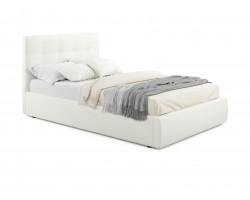 Кровать с подъемным механизмом Мягкая Selesta 1200 беж матрао