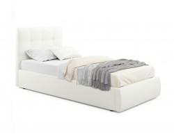 Кровать Мягкая Selesta 900 беж с ортопедическим основанием с мат
