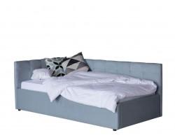 Кровать Односпальная -тахта Bonna 900 серая с подъемным механизмо