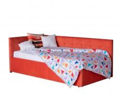 Кровать Односпальная -тахта Bonna 900 оранж с подъемным механизмо