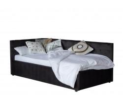 Односпальная кровать-тахта Bonna 900 темная с подъемным механизмом и