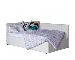 Кровать с подъемным механизмом Однопальная -тахта Bonna 900 белый