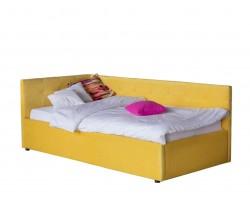 Кровать Односпальная -тахта Bonna 900 желтая с подъемным механизм