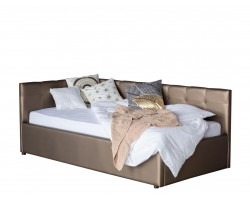 Кровать Односпальная -тахта Bonna 900 мокко с подъемным механизмо