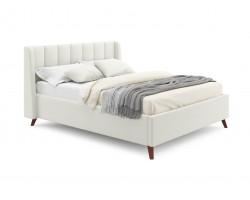 Кровать с подъемным механизмом Мягкая Betsi 1600 беж и матраом