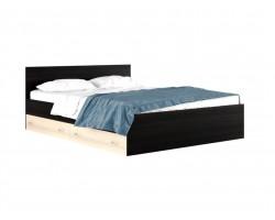 """Широкая двуспальная кровать """"Виктория"""" 200 см с"""