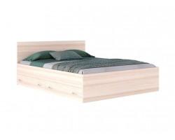 """Кровать двуспальная """"Виктория"""" 1800 с ящиками дуб/дуб"""