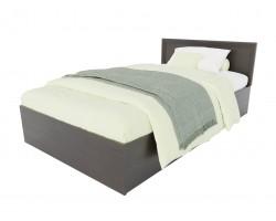 Кровать односпальная Адель 1200 с багетом и ортопедическим матрасом PROMO