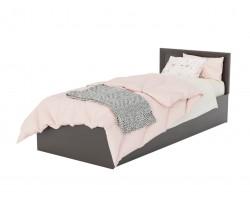 Кровать Адель 900 с багетом и ортопедическим матрасом АСТРА