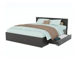 Кровать Адель 1800 с багетом, ящиком и ортопедическим матрасом P