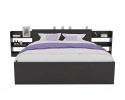 Кровать Доминика с блоком 180 (Венге) с матрасом АСТРА