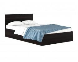 """Полутороспальная кровать """"Виктория"""" 1200 венге с матрасом"""