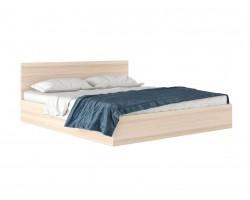"""Широкая двуспальная кровать """"Виктория"""" 1800 дуб"""
