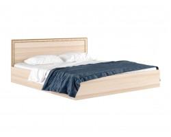 """Широкая двуспальная кровать """"Виктория-Б"""" 200 см. с багетом"""