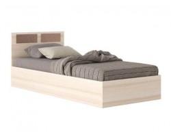 Кровать Односпальная со стеклом на изголовье