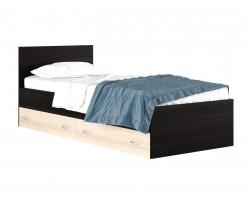 """Кровать односпальная """"Виктория"""" 800 с выдвижными ящика"""