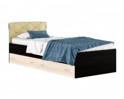 """Детская кровать Односпальная """"Виктория-П"""" 900 с подушкой, ящик"""