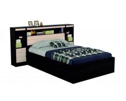 """Кровать """"Виктория"""" с откидным блоком 1400 и тумбами в"""