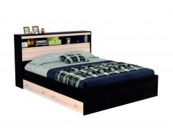"""Кровать """"Виктория"""" 160 см. с откидным блоком, ящиками"""