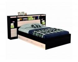 """Кровать """"Виктория"""" 1400 с блоком, ящиками и тумбами с"""