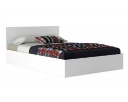 Детская кровать Виктория 120 белая с матрасом ГОСТ