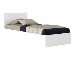 Кровать односпальная Виктория 80 белая с матрасом Promo B Cocos
