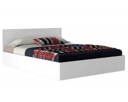 Кровать Виктория 160 белая с матрасом Promo B Cocos