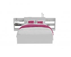 Кровать Доминика с блоком 120 (Белый) с матрасом АСТРА