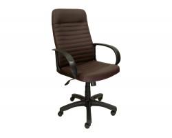 Компьютерное кресло руководителя Office Lab standart-1601 Эко кожа Шоколад