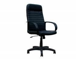 Компьютерное кресло руководителя Office Lab standart-1601 Эко кожа Черный