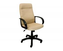 Компьютерное кресло руководителя Office Lab standart-1601 Эко кожа Слоновая к