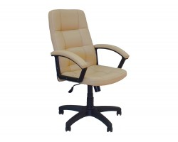 Кресло руководителя Office Lab comfort -2072 Слоновая кость