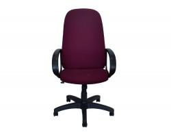 Кресло компьютерное Офисное Office Lab standart-1331 Ткань рогожка бордовая