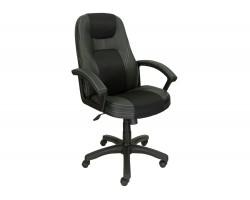 Компьютерное кресло руководителя Office Lab comfort-2082 Черный/Черный