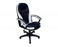 Кресло компьютерное руководителя Office Lab comfort-2082 Черный/Белый