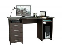 Компьютерный стол письменный Милан-6 (0120) венге