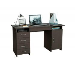 Стол компьютерный письменный Милан-7Я (0120) венге